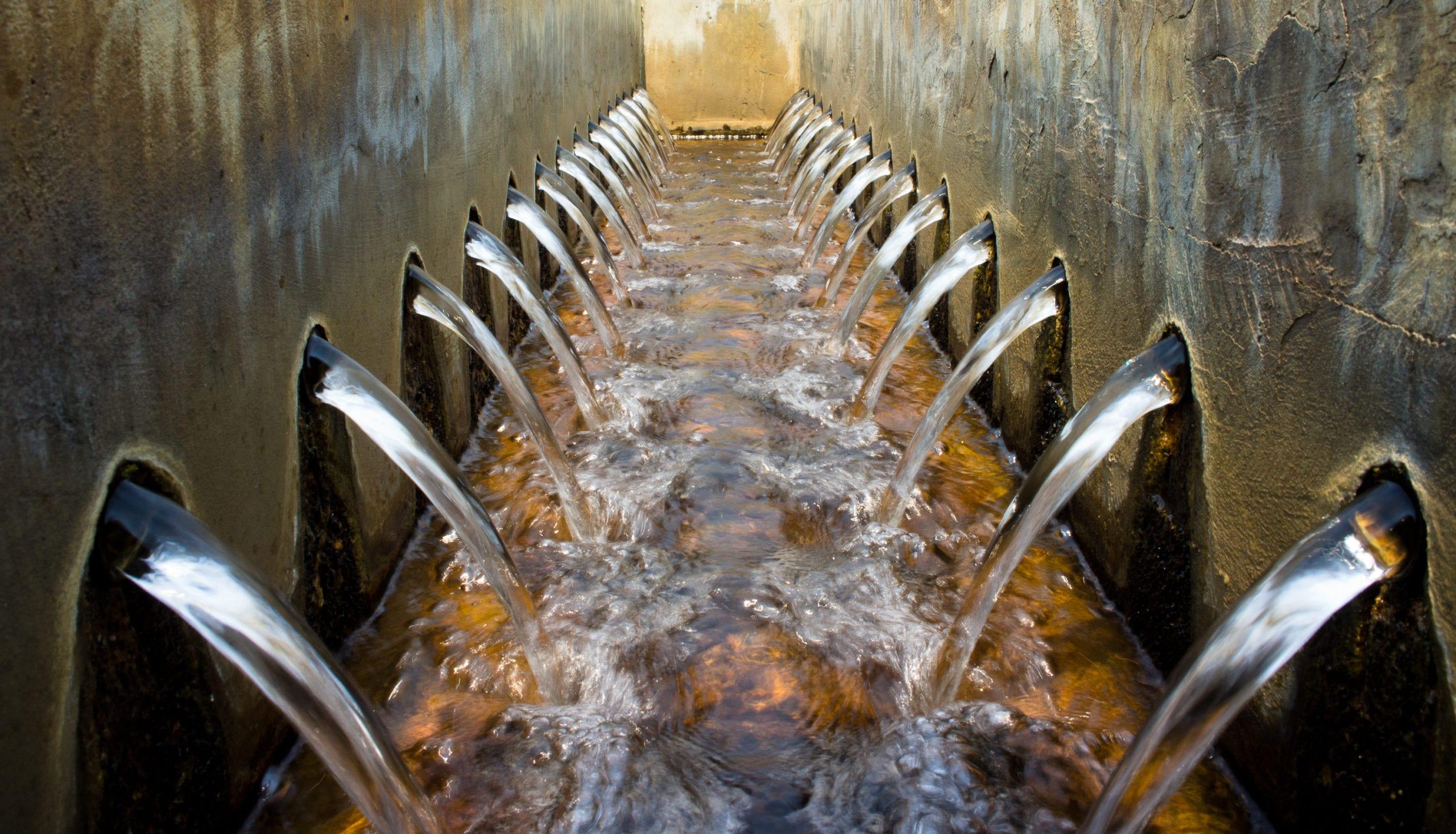 Installation équipements de stations d'épuration d'eaux usées