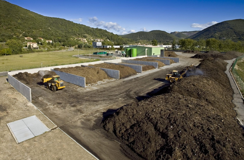 Exploitation plateforme compostage