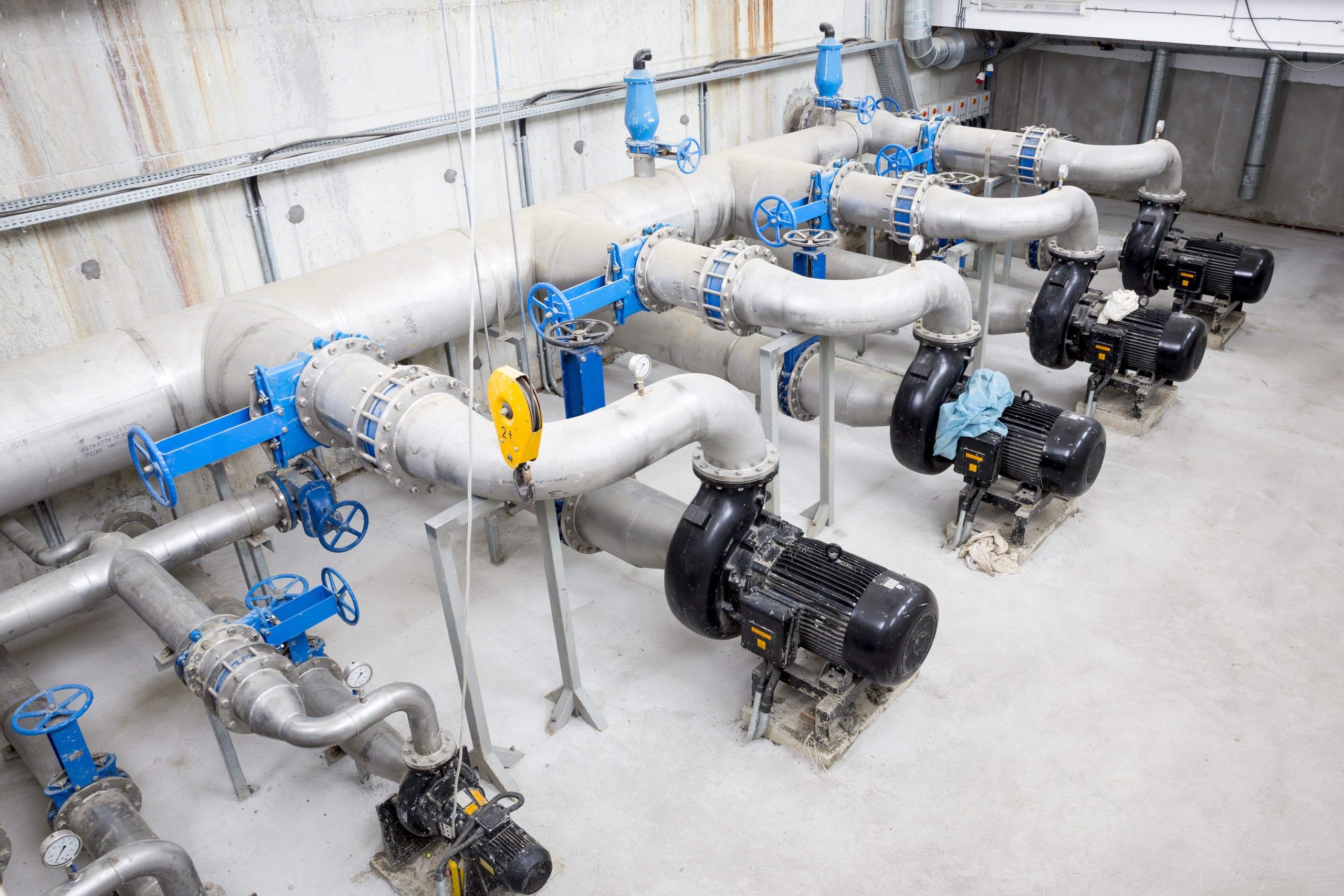 installation equipement de chambre de vannes